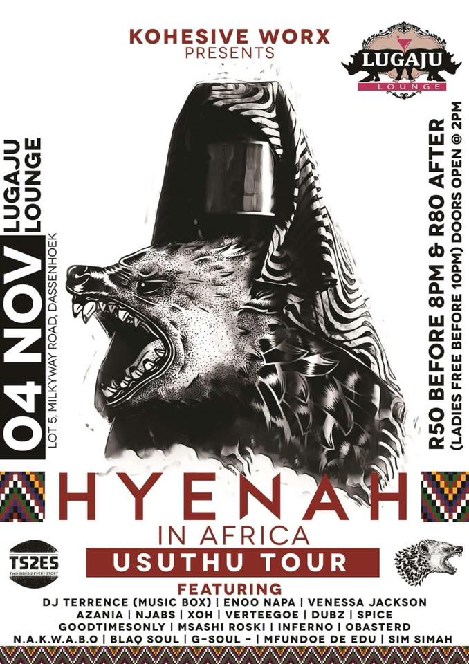 Hyenah on tour